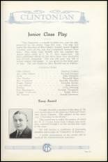 1925 Clinton High School Yearbook Page 142 & 143