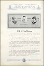 1925 Clinton High School Yearbook Page 144 & 145