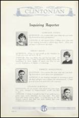 1925 Clinton High School Yearbook Page 150 & 151
