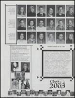 2002 Shelton High School Yearbook Page 70 & 71