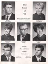 1967 Bothell High School Yearbook Page 36 & 37