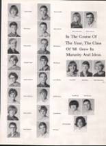 1967 Bothell High School Yearbook Page 58 & 59