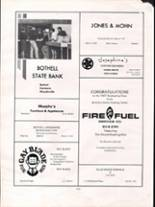 1967 Bothell High School Yearbook Page 160 & 161