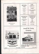 1967 Bothell High School Yearbook Page 166 & 167