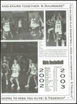 2003 Lake County High School Yearbook Page 102 & 103