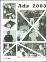 2003 Lake County High School Yearbook Page 132 & 133