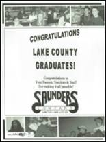 2003 Lake County High School Yearbook Page 148 & 149
