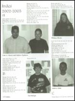 2003 Lake County High School Yearbook Page 158 & 159