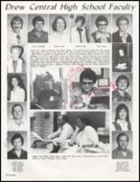 1982 Drew High School Yearbook Page 74 & 75