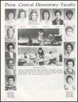 1982 Drew High School Yearbook Page 76 & 77