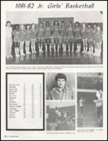 1982 Drew High School Yearbook Page 102 & 103