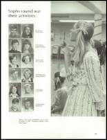 1970 John F. Kennedy Memorial High School Yearbook Page 70 & 71