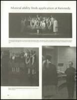 1970 John F. Kennedy Memorial High School Yearbook Page 84 & 85