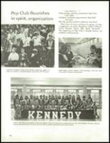1970 John F. Kennedy Memorial High School Yearbook Page 102 & 103