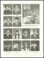 1970 John F. Kennedy Memorial High School Yearbook Page 116 & 117