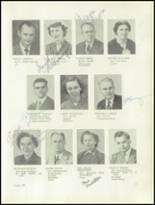 1950 Clarion High School Yearbook Page 10 & 11