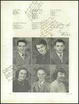 1950 Clarion High School Yearbook Page 16 & 17