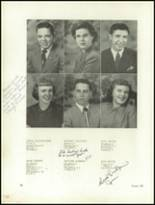 1950 Clarion High School Yearbook Page 18 & 19