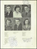 1950 Clarion High School Yearbook Page 20 & 21