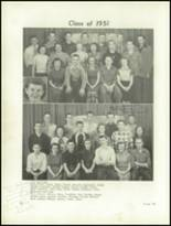 1950 Clarion High School Yearbook Page 32 & 33