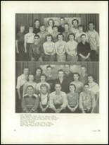 1950 Clarion High School Yearbook Page 36 & 37