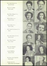 1950 Magnet Cove High School Yearbook Page 14 & 15