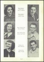 1950 Magnet Cove High School Yearbook Page 36 & 37