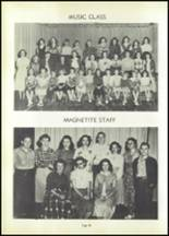 1950 Magnet Cove High School Yearbook Page 40 & 41