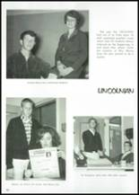 1966 Lincoln High School Yearbook Page 102 & 103