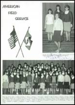 1966 Lincoln High School Yearbook Page 122 & 123