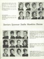 1965 Palos Verdes High School Yearbook Page 66 & 67