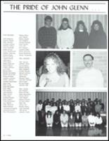 1989 John Glenn High School Yearbook Page 76 & 77