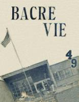 1949 Yearbook Battle Creek Academy