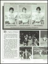 1987 Kress High School Yearbook Page 50 & 51