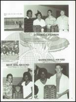 1987 Kress High School Yearbook Page 64 & 65
