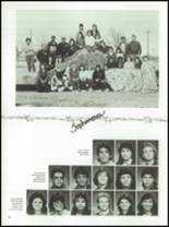 1987 Kress High School Yearbook Page 82 & 83
