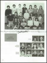 1987 Kress High School Yearbook Page 92 & 93