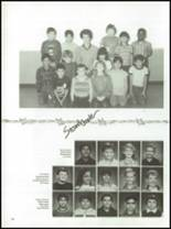 1987 Kress High School Yearbook Page 100 & 101