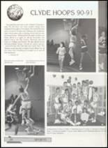 1991 Clyde High School Yearbook Page 38 & 39