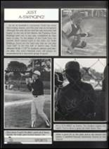 1991 Clyde High School Yearbook Page 56 & 57