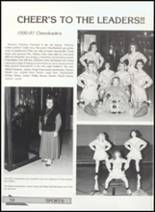 1991 Clyde High School Yearbook Page 58 & 59