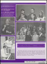 1991 Clyde High School Yearbook Page 74 & 75