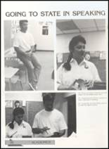 1991 Clyde High School Yearbook Page 100 & 101