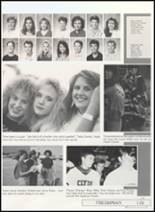 1991 Clyde High School Yearbook Page 122 & 123