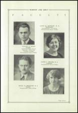 1927 State College Area High School Yearbook Page 14 & 15