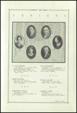 1927 State College Area High School Yearbook Page 20 & 21