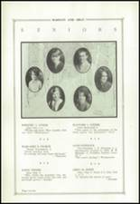 1927 State College Area High School Yearbook Page 24 & 25