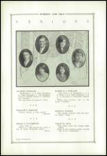1927 State College Area High School Yearbook Page 26 & 27
