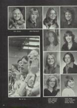 1975 Moscow High School Yearbook Page 54 & 55