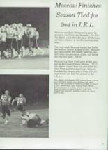 1975 Moscow High School Yearbook Page 62 & 63